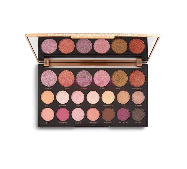 MAKEUP REVOLUTION  JEWEL COLLECTION - DELUXE PALETA FARDURI