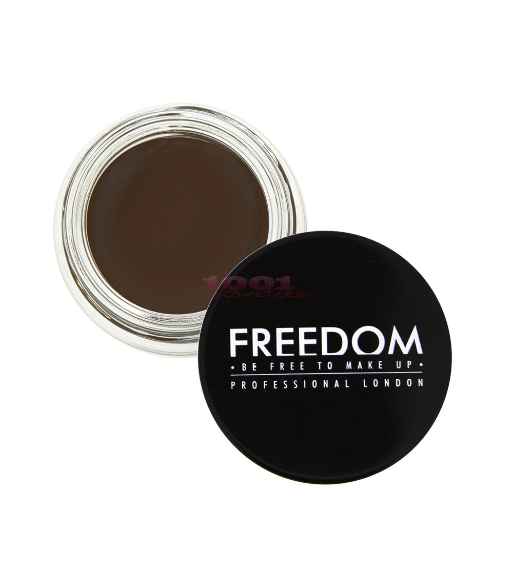 MAKEUP REVOLUTION LONDON BROW POMADE GEL PENTRU SPRACENE DARK BROWN