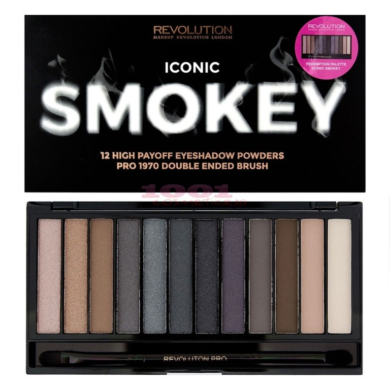 MAKEUP REVOLUTION LONDON ICONIC SMOKEY PALETTE