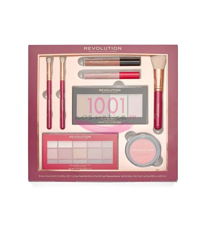 MAKEUP REVOLUTION LONDON RELOADED COLLECTION KIT