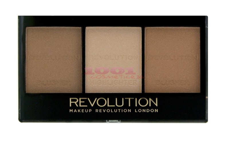 MAKEUP REVOLUTION LONDON ULTRA SCULPT & CONTOUR LIGHT / MEDIUM C04 KIT