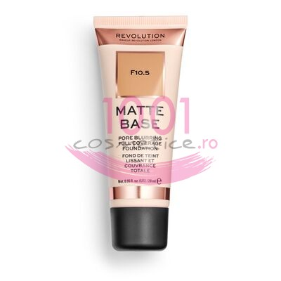 MAKEUP REVOLUTION MATTE BASE PORE BLURRING FULL COVERAGE FOND DE TEN F10.5