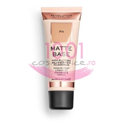 MAKEUP REVOLUTION MATTE BASE PORE BLURRING FULL COVERAGE FOND DE TEN F11
