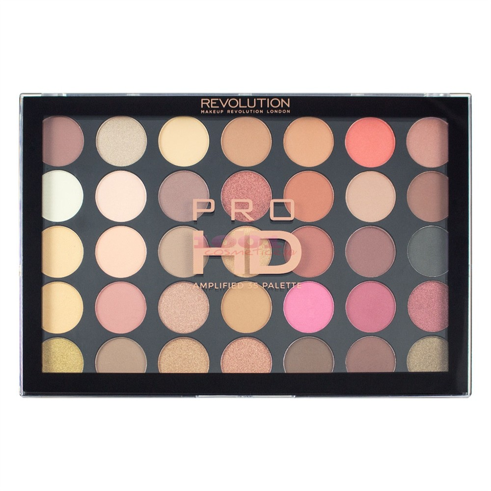 MAKEUP REVOLUTION PRO HD AMPLIFIED 35 PALETTE SOCIALITE PALETA FARDURI