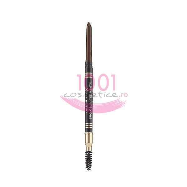 MAX FACTOR BROW SLANTED PENCIL CREION PENTRU SPRANCENE CHOCOLATE 04