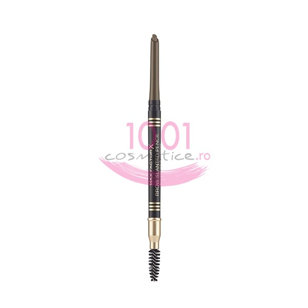 MAX FACTOR BROW SLANTED PENCIL CREION PENTRU SPRANCENE DARK BRON 03