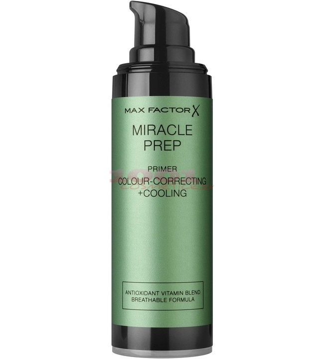 MAX FACTOR MIRACLE PREP COLOUR + CORRECTING + COOLING PRIMER