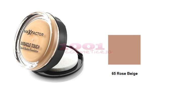 MAX FACTOR MIRACLE TOUCH ROSE BEIGE 65