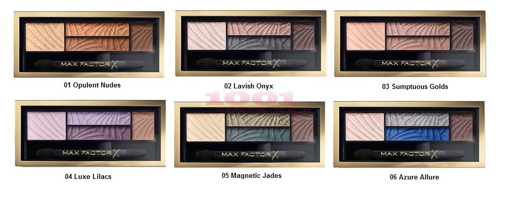 MAX FACTOR SMOKY EYE DRAMA KIT PALETA FARDURI