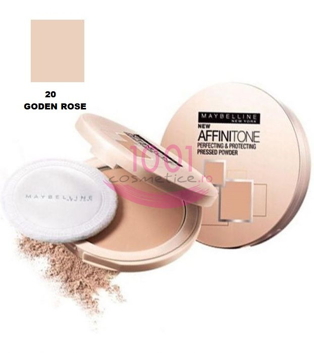 MAYBELLINE AFFINITONE PUDRA GOLDEN ROSE 20