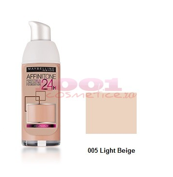 MAYBELLINE AFINITONE 24H FOND DE TEN LIGHT BEIGE 005