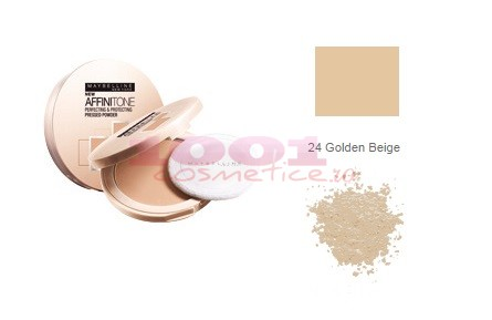 MAYBELLINE AFINITONE PUDRA GOLDEN BEIGE 24