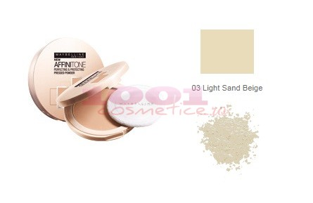 MAYBELLINE AFINITONE PUDRA LIGHT SAND BEIGE 03