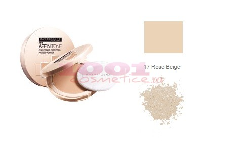 MAYBELLINE AFFINITONE PUDRA ROSE BEIGE 17