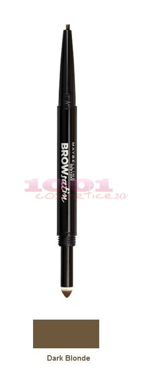 MAYBELLINE BROW SATIN CREION 2 CAPETE PENTRU SPRANCENE DARK BLONDE