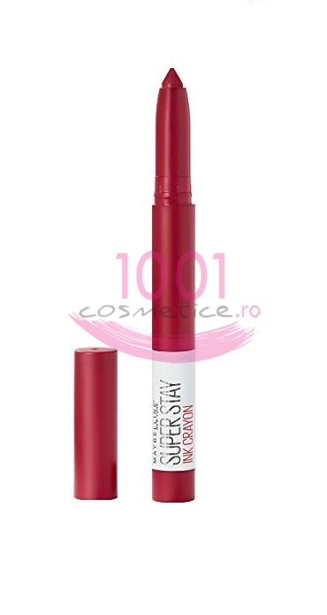 MAYBELLINE SUPER STAY INK CRAYON RUJ DE BUZE REZISTENT OWN YOUR EMPIRE 50