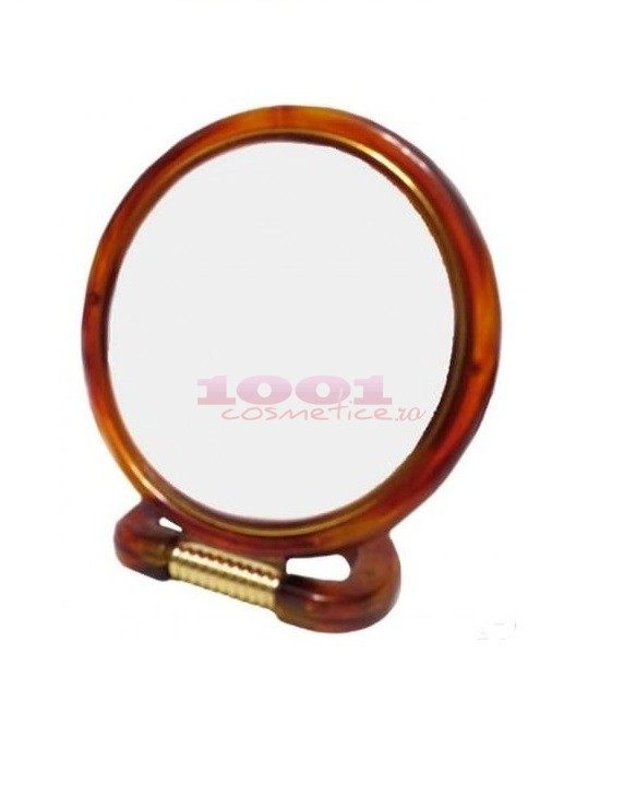 MEIJIAER CHIC DE MIRROR DOUBLE SIDED OGLINDA ROTUNDA PENTRU MAKEUP 10 CM 417-5