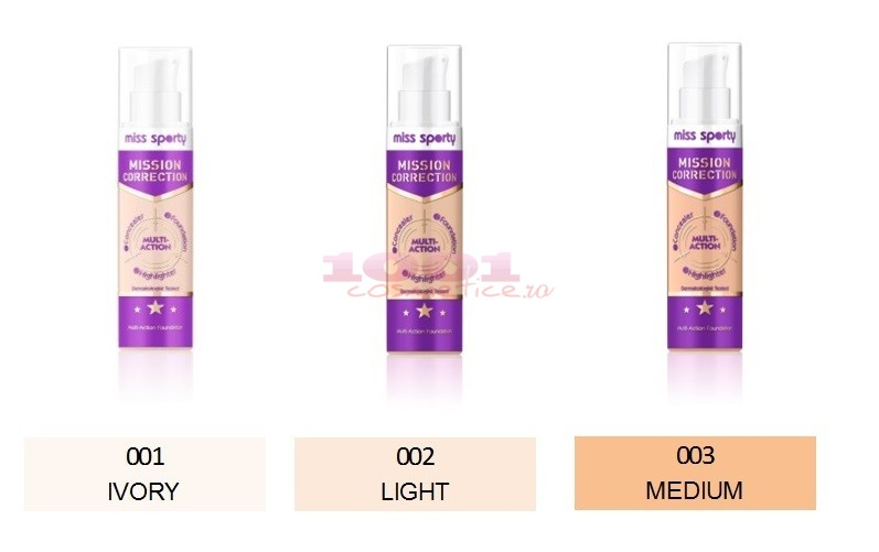 Miss Sporty Mission Correction Fond De Ten