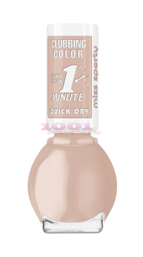 MISS SPORTY NAIL POLISH CLUBBING COLOR LAC DE UNGHII 020