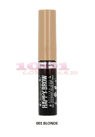 MISS SPORTYHAPPY BROW MASCARA PENTRU SPRANCENE BLONDE 001