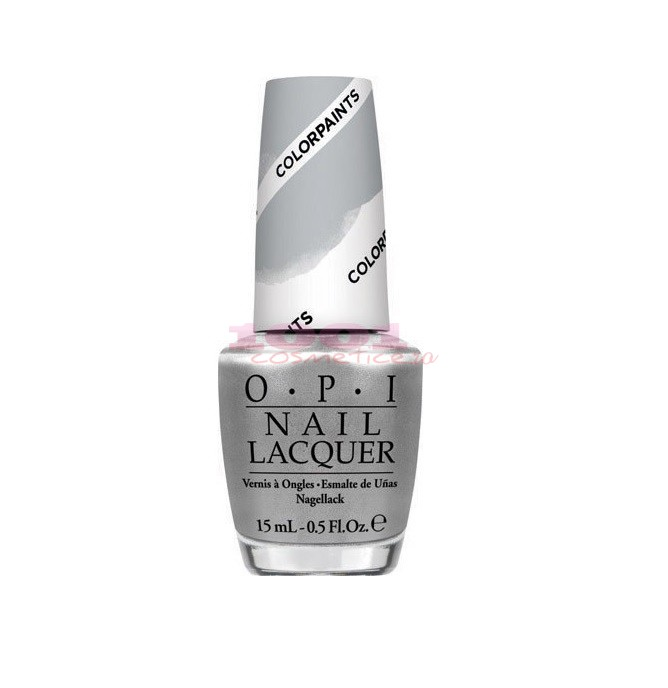 OPI COLECTIA COLOR PAINTS SILVER CANVAS NL P19