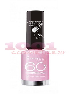 RIMMEL LONDON 60 SECONDS LAC DE UNGHII RING A RING O ROSES 262
