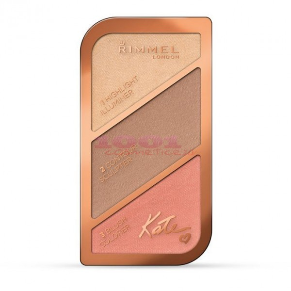RIMMEL LONDON KATE SCULPTING CONTURING AND HIGHLIGHTING PALETA