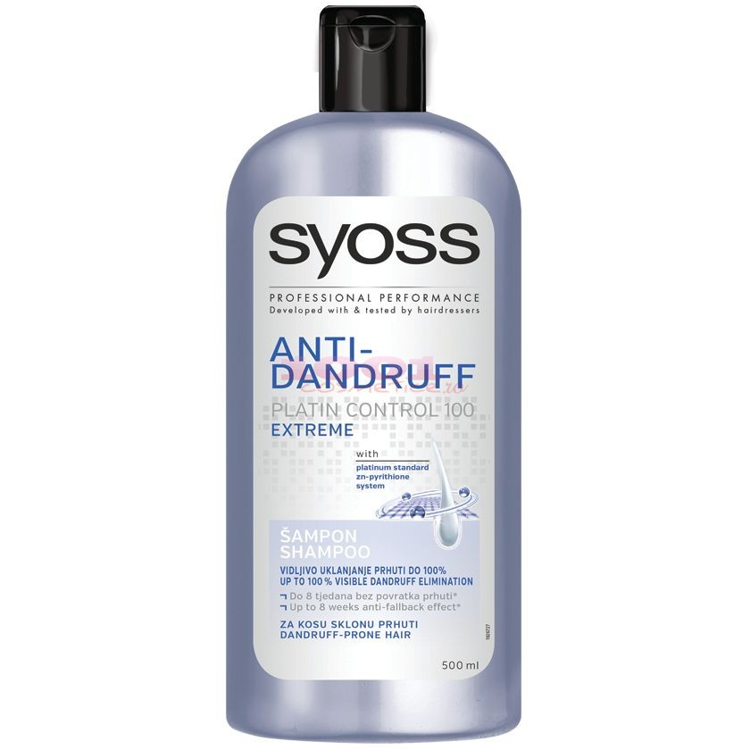 SYOSS ANTI-DANDRUFF PLATIN CONTROL SAMPON ANTIMATREATA