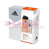 adidas ADIPOWDER GEL DE DUS 250 ML + DEO 150 ML SET MEN