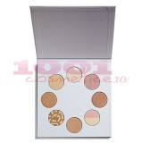 MAKEUP REVOLUTION HIGHLIGHTER WARDROBE COLLECTION PALETA ILUMINATOARE