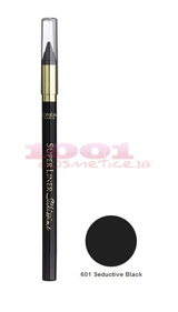 LOREAL SUPERLINER SILKISSIME SEDUCTIVE BLACK 601