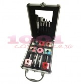 2K COMPLETE BEAUTY TRAIN CASE TRUSA MAKEUP