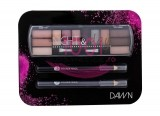 2K NIGHT & DAY PALETA EYESHADOW + 2x CREION DERMATOGRAF BLACK SET DAWN