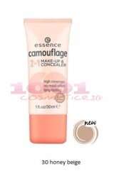 ESSENCE CAMOUFLAGE 2IN1 FOND DE TEN & CORECTOR 030