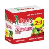 ADAMS SUPPLEMENTS FOLICACID 400 MG  PACHET 1+1 GRATIS