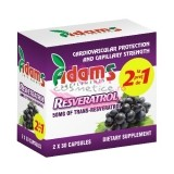 ADAMS SUPPLEMENTS RESVERATROL 50 MG PACHET 1+1 GRATIS