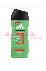 adidas ACTIVE START BODY, HAIR, FACE, GEL DE DUS PENTRU BARBATI
