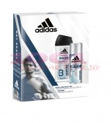 adidas ADIPURE MEN ANTI-PERSPIRANT SPRAY 150  ML + BODY HAIR FACE 250 ML SET