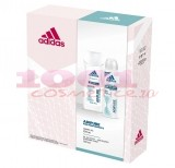 adidas ADIPURE WOMEN PERFORMANCE DEODORANT SPRAY 150 ML + GEL DE DUS 250 ML SET