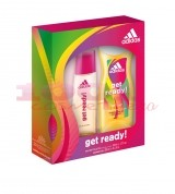 adidas GET REDY WOMEN EDT 50 ML + GEL DE DUS 250 ML SET