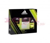 adidas PURE GAME AFTER SHAVE 50 ML + DEO BODY SPRAY 150 ML + GEL DE DUS 250 ML SET