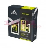 ADIDAS PURE GAME DNS 75 ML + GEL DE DUS 250 ML SET