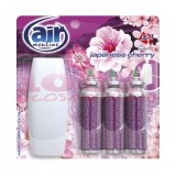 AIR MENLINE 3IN1 SPRAY APARAT + 3 BUCATI REZERVE JAPANESSE CHERRY SET