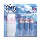 AIR MENLINE 3IN1 SPRAY APARAT + 3 BUCATI REZERVE MARINE WAVE SET