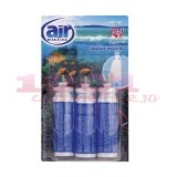 AIR MENLINE 3IN1 SPRAY REZERVA SET 3 BUCATI AQUA WORLD