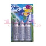 AIR MENLINE 3IN1 SPRAY REZERVA SET 3 BUCATI RAIN OF ISLAND
