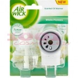 AIR WICK LIFE SCENTS ODORIZANT ELECTRIC PENTRU CAMERA WHITE FLOWERS