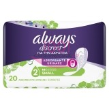 ALWAYS DISCREET ABSORBANTE URINARE SMALL 20 BUCATI