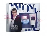 ANTONIO BANDERAS KING OF SEDUCTION EAU DE TOILETTE MEN 50 ML + AFTER SHAVE BALM 50 ML SET
