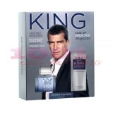 ANTONIO BANDERAS KING OF SEDUCTION SET EDT 100ML+ ASL BALM 100ML SET